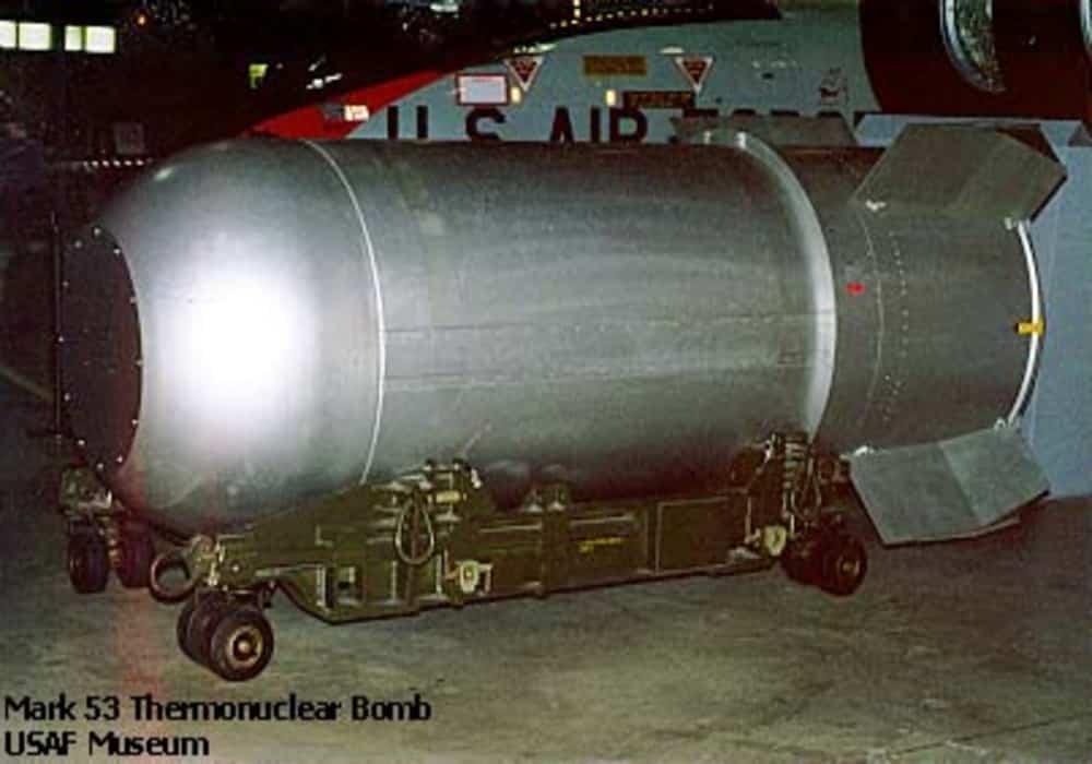 Bom hidrogen - salah satu senjata yang paling mematikan
