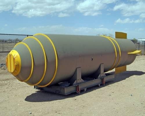 Bom termonuklir MK17 - salah satu senjata yang paling mematikan