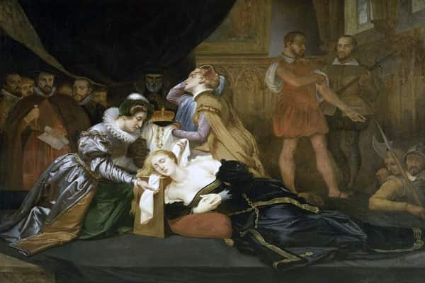 Eksekusi Ratu Skotlandia Mary Stuart