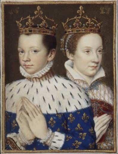 Francis II dan Mary Stuart