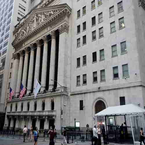 Gedung New York Stock Exchange (NYSE)