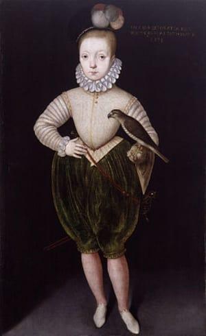 James Charles Stuart - anak ratu Mary skotlandia
