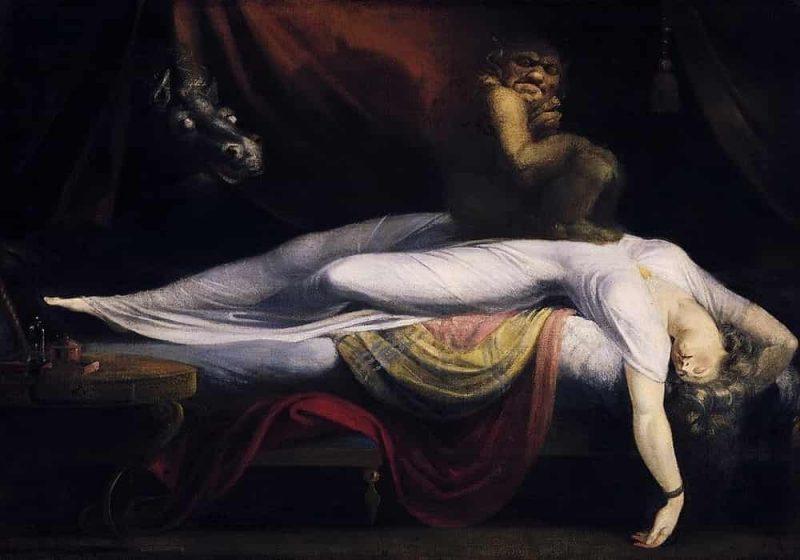 Ketindihan saat tidur - Kelumpuhan tidur
