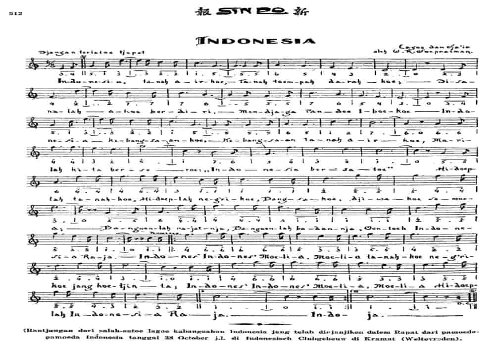 Lirik Lagu Indonesia Raya Lirik Asli 1928 Lirik Resmi 1958 Lirik Modern