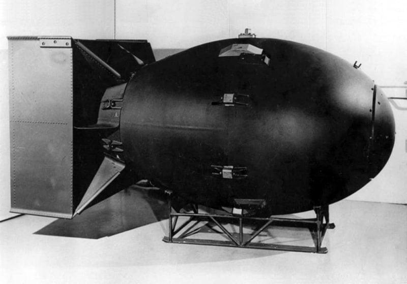 Nuklir fat man - salah satu senjata yang paling mematikan