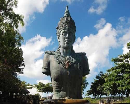 Patung GWK Bali - Garuda Wisnu Kencana