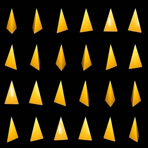 Rumus tetrahedron geometri 3 dimensi