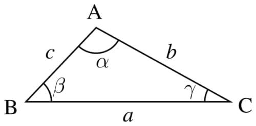 Sisi sudut segitiga