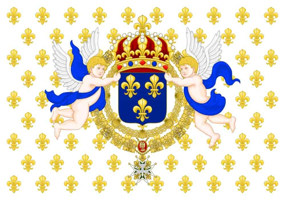 Standard kerajaan dari Raja Prancis