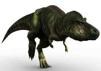 Jenis dinosaurus Tyrannosaurus rex trex