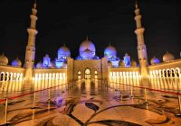 Wisata Abu Dhabi - Masjid Sheikh Zayed