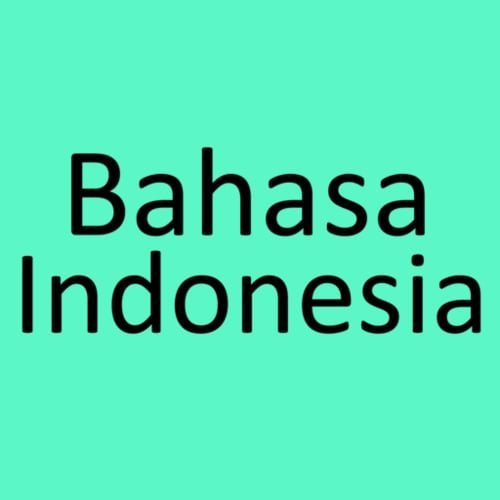 Bahasa Indonesia EYD - Ejaan yang Disempurnakan