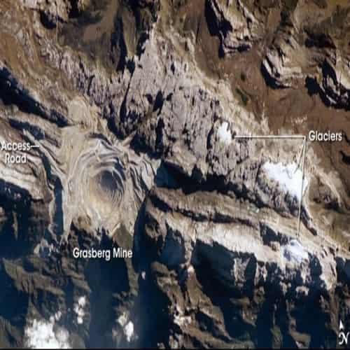 Freeport tambang Grasberg - Papua