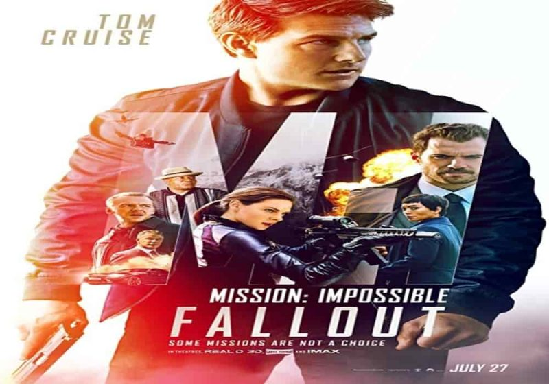 Mission impossible fallout 2018 to cruise