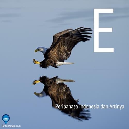 Peribahasa Indonesia huruf E