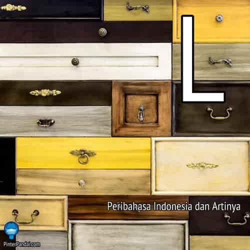 Peribahasa Indonesia huruf L