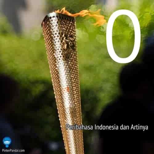 Peribahasa Indonesia huruf O