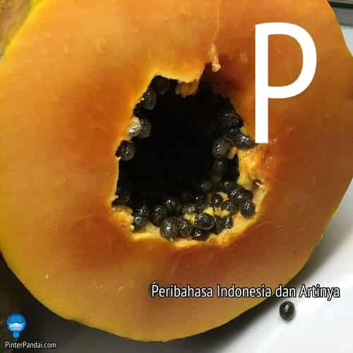 Peribahasa Indonesia huruf P