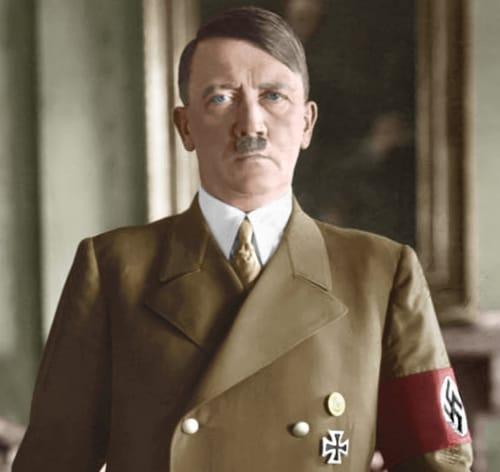 Potret hitler nazi