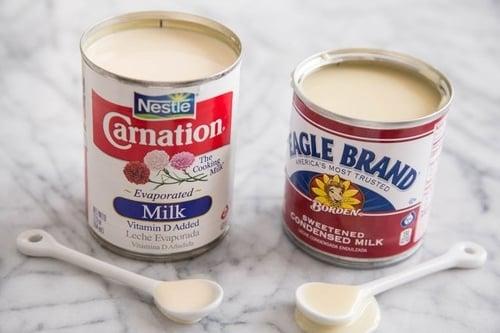 Susu kental manis dan evaporasi