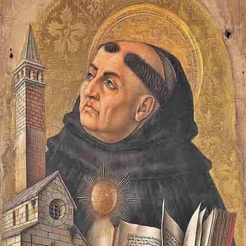 Thomas Aquinas filsuf italia