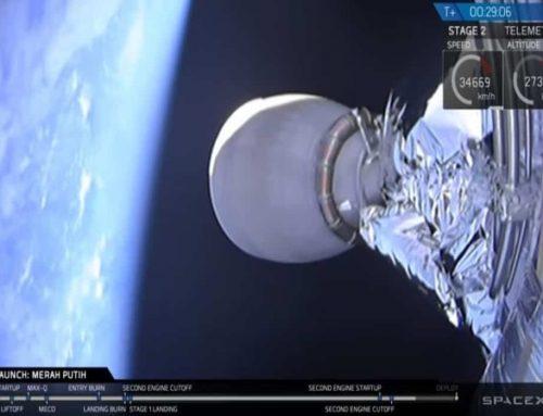 Satelit Merah Putih Milik Telkom Indonesia Diluncurkan Oleh SpaceX Pada Tanggal 7 Agustus 2018