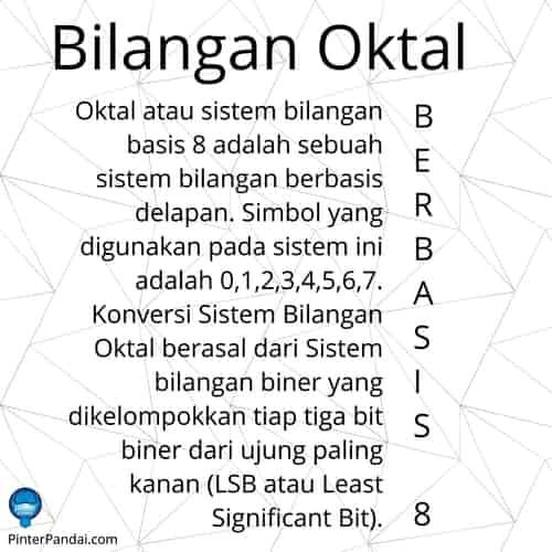 Bilangan oktal basis 8
