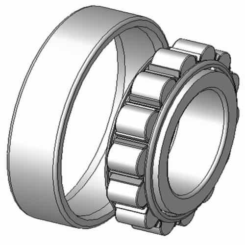 Rol silinder bearing
