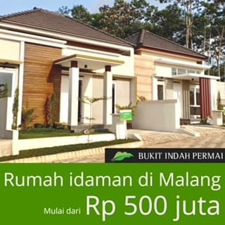 Rumah Idaman di Malang - Bukit Indah Permai