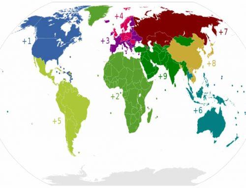 Kode Telepon Negara di Seluruh Dunia – Daftar Lengkap
