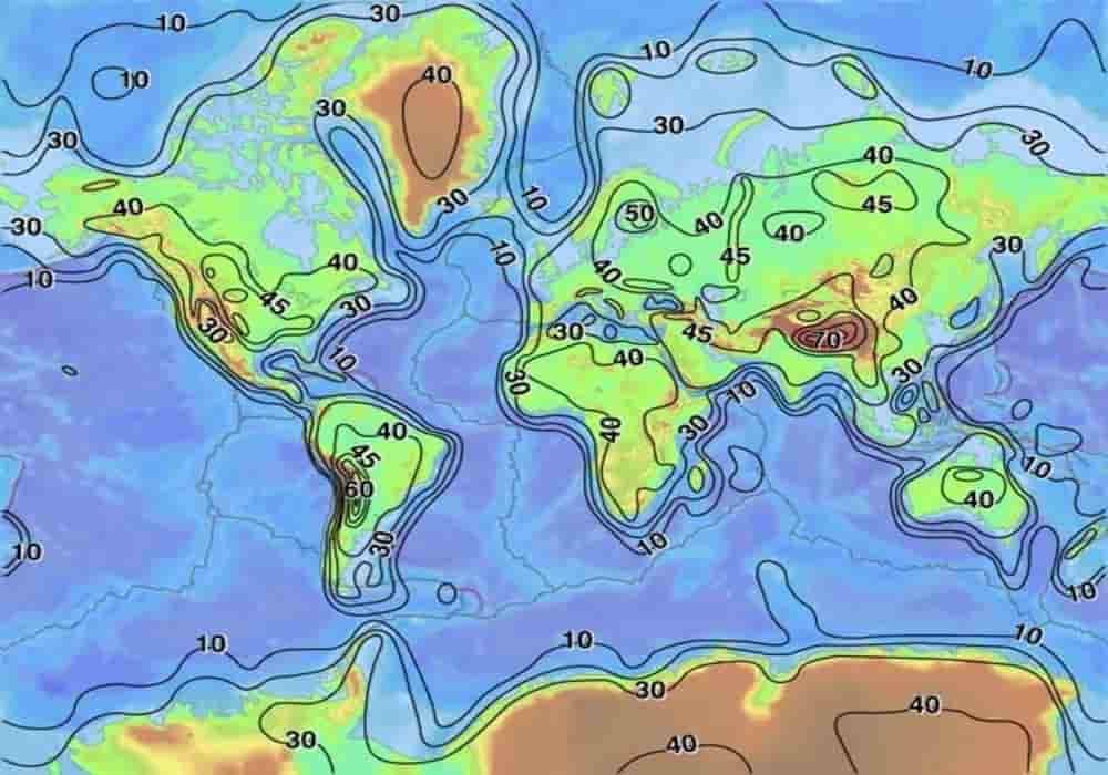 Topo kerak benua bumi