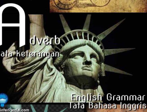 Adverb Kata Keterangan Bahasa Inggris – Contoh Soal dan Jawaban