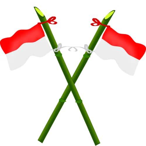 Hari tritura - bendera indonesia