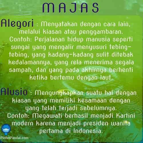 Majas - gaya bahasa