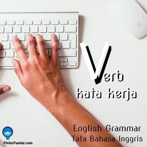 Verb kata kerja grammar inggris