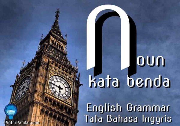 Noun kata benda grammar inggris