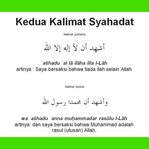 Syahadat Islam