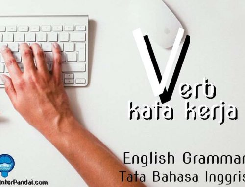 Verb Kata Kerja Bahasa Inggris – Contoh Soal dan Jawaban