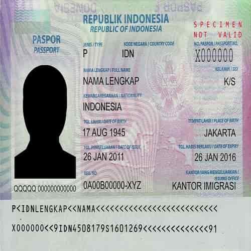 cara mengurus paspor hilang saat di Indonesia