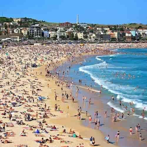 Foto tempat wisata bondi beach sydney