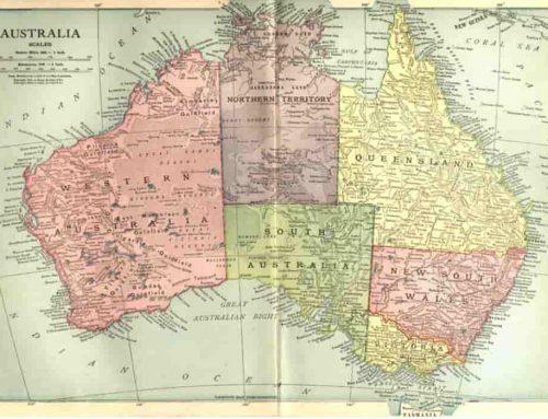 Sejarah Australia – Peta, Geografi, Kota Negara Bagian dan Teritorial