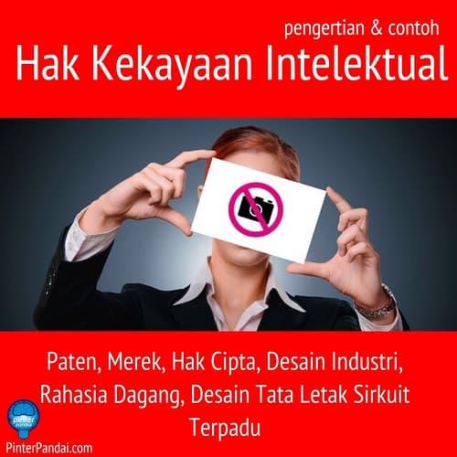 Hak Kekayaan Intelektual: Paten, Merek, Hak Cipta, Desain Industri, Rahasia Dagang, Desain Tata Letak Sirkuit Terpadu - Pengertian, Cara Daftar dan Contoh
