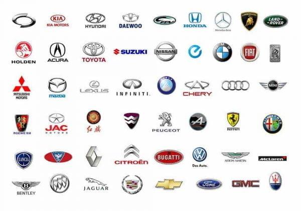 Daftar Merek Mobil - Eropa, Amerika, Asia dan Berdasarkan Negara