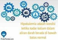 Hipokalemia - ketika kadar kalium dalam aliran darah di bawah normal