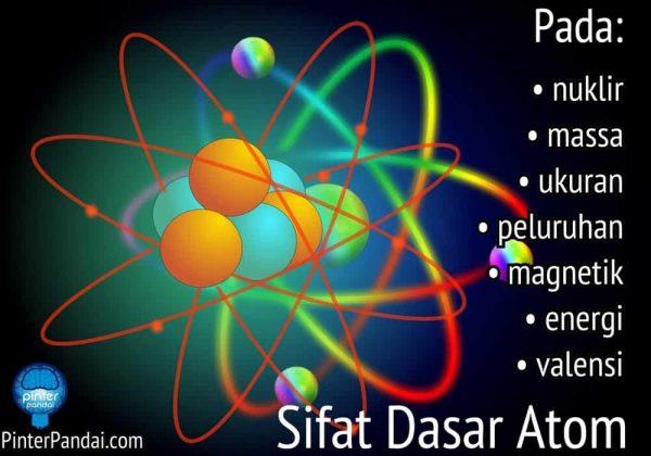 Sifat Atom - 10 Sifat Dasar Atom (Nuklir, Massa, Ukuran, Momen magnetik, Aras energi...)