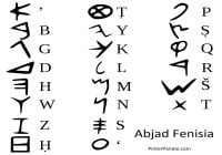 Abjad Fenisiа - Alfabet Fenisiа