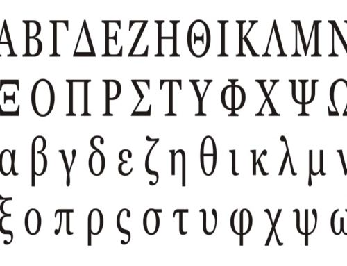 Alfabet Yunani – Penjelasan dan Contoh Simbol Abjad Yunani