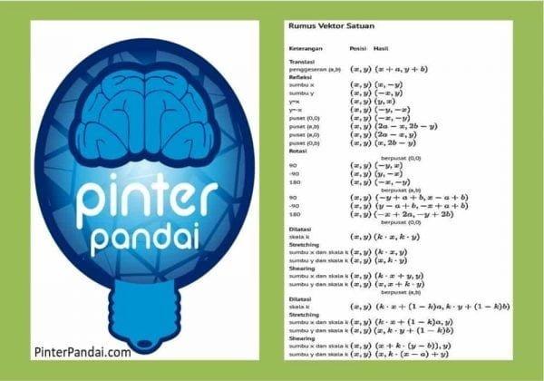 Vektor Satuan (Matematika) - Bersama Contoh Soal dan Jawaban