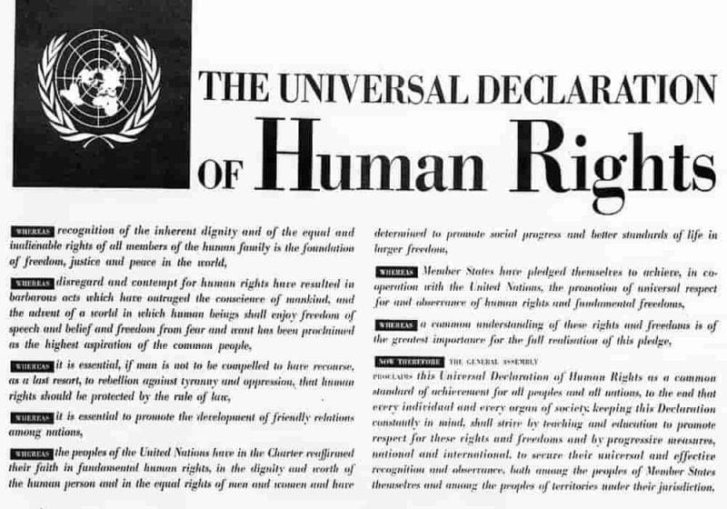Deklarasi Universal HAM (Hak Asasi Manusia) - Pernyataan Umum tentang Hak-Hak Asasi Manusia
