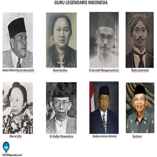Contoh guru legendaris di indonesia